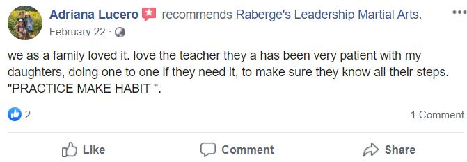 Kids1 1, Raberge's Leadership Martial Arts Lakeville